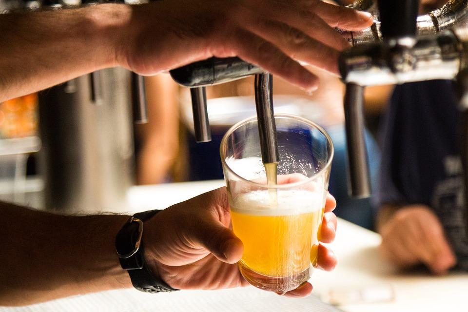 Как наливать пиво из кег